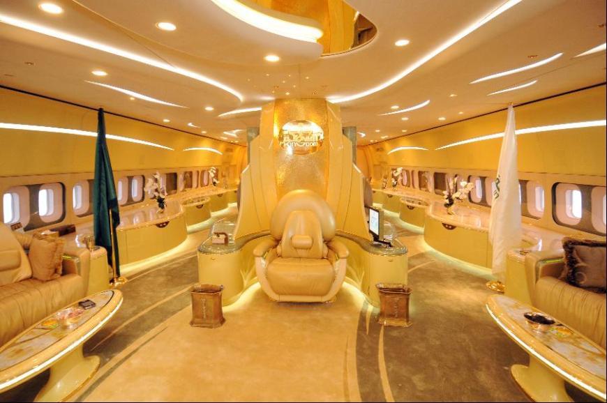 Prince Alwaleed bin Talal's private plane