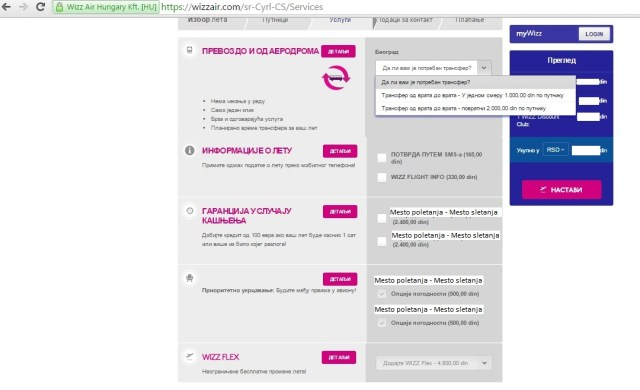 6 wizz air kako rezervisati kartu online