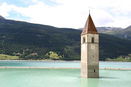 Potopljeni grad / Drowned Town - Curon Venosta, Italy
