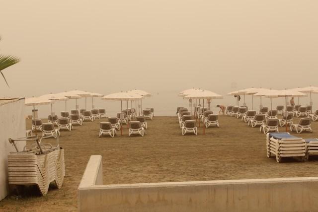dust storm cyprus