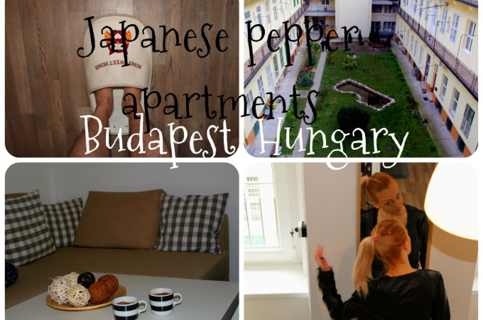 Japanese pepper apartment Budapest Hungary – room tour