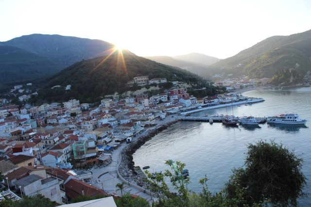 sunrise parga
