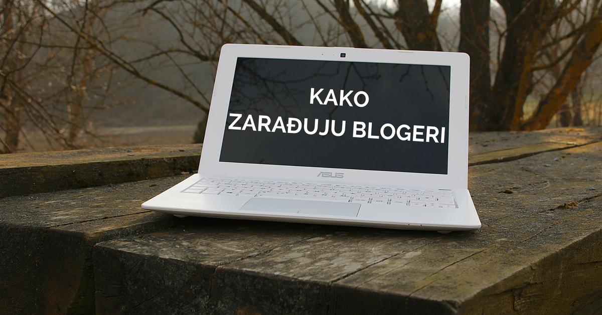 kako se zarađuje od bloga