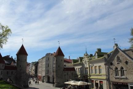 talin stari grad pogled iz parka