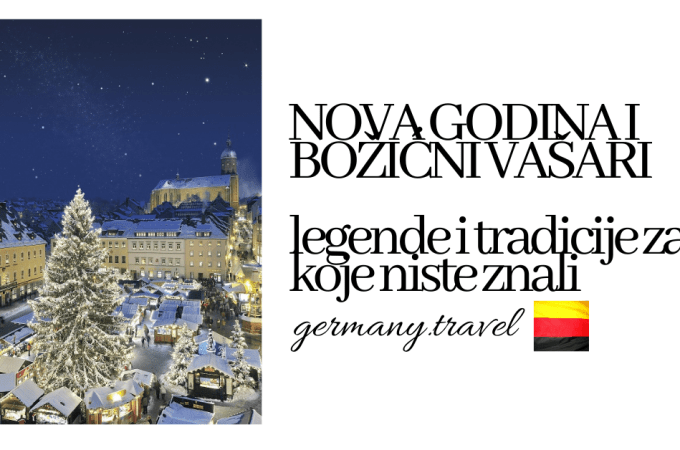 Nova Godina i Božićni vašari – tradicije i legende za koje niste znali (a potiču iz Nemačke)
