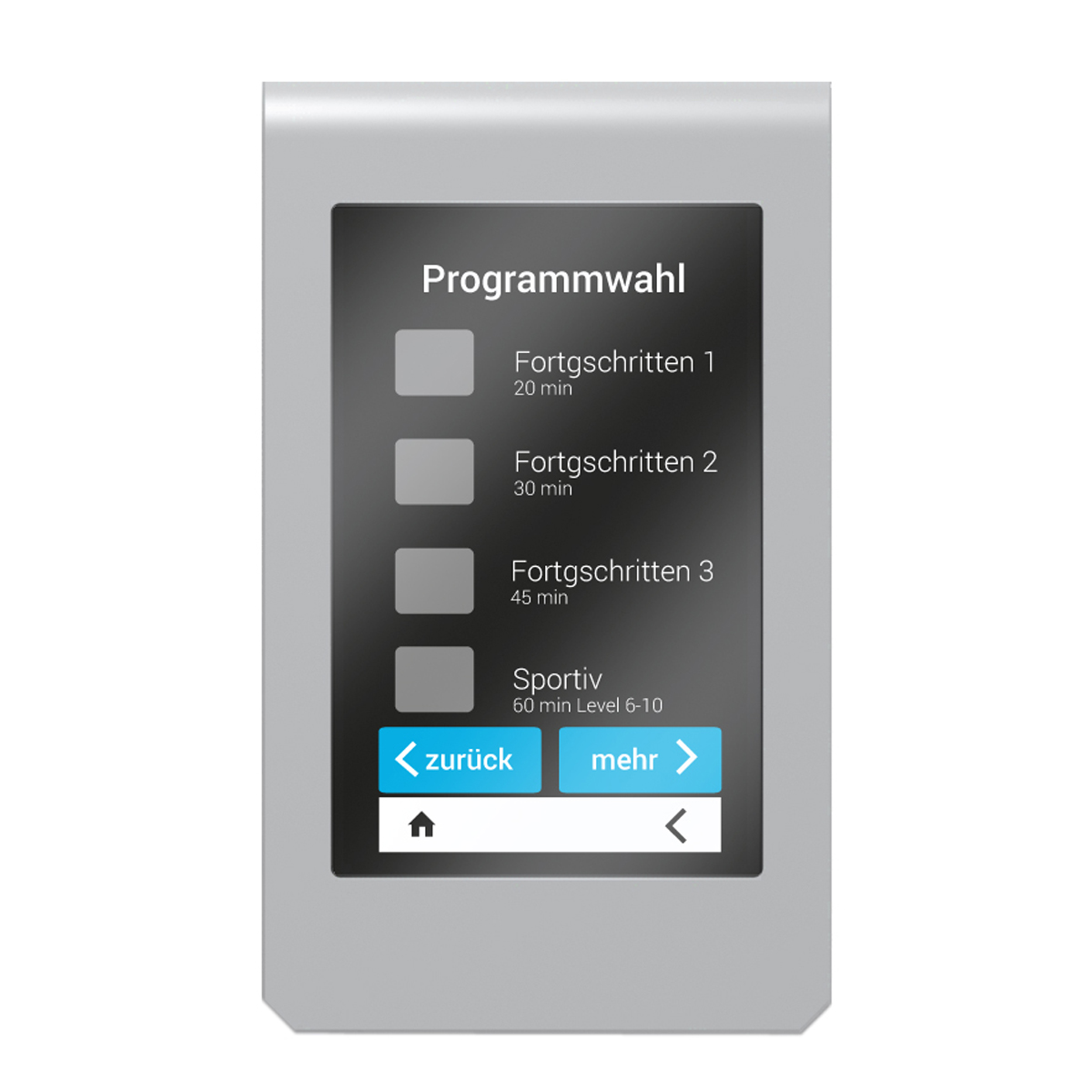 STIL-FIT Ergometer Trainingsprogramms Purity
