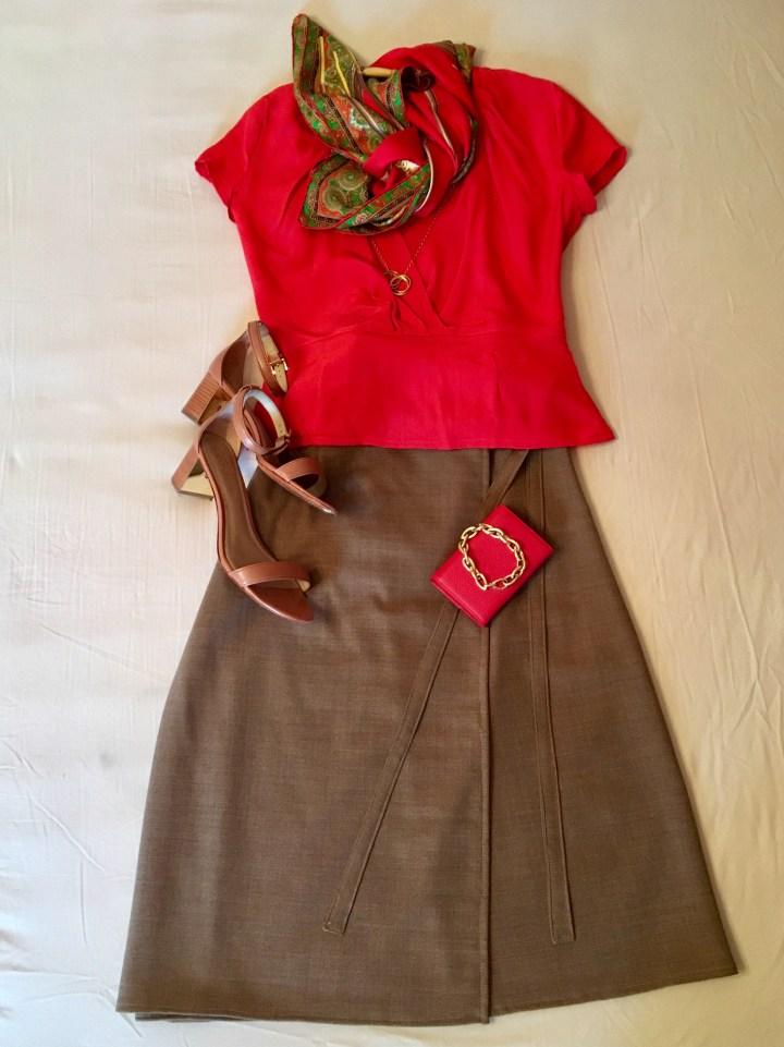6 outfits mit rot als blickfang6