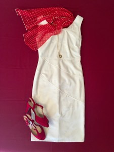 Sommerkleider kombinieren cremefarbenes kleid1