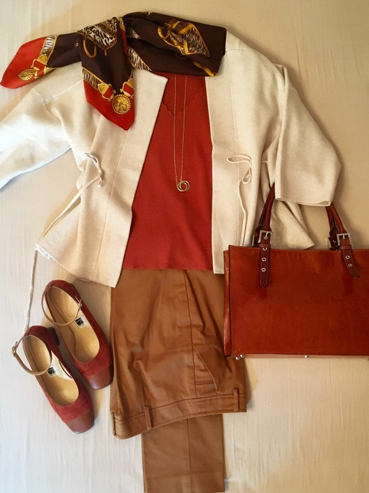 Outfit in Herbstfarben1