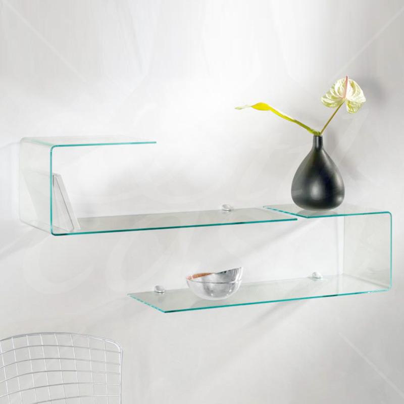 Mensole Di Vetro Con Led.Specchi Bagno Con Led