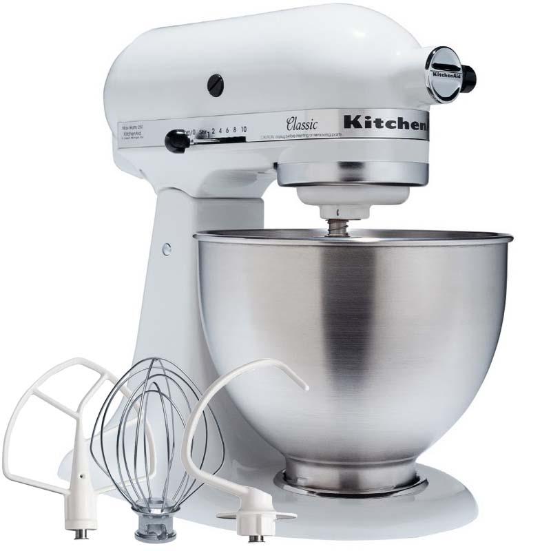 KitchenAid Robot Classic Bianco 250W Garanzia italiana