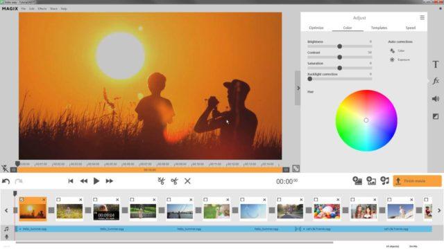 L'interface de Video Easy, logiciel de montage vidéo