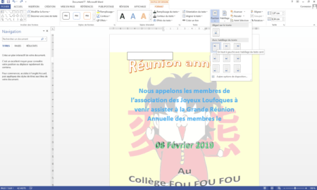 create a superb poster in word in only