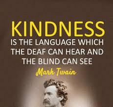 kindness twain