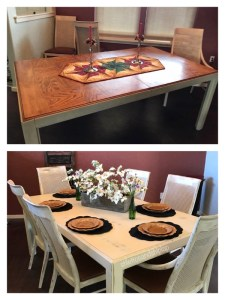 Dining Table Makeover