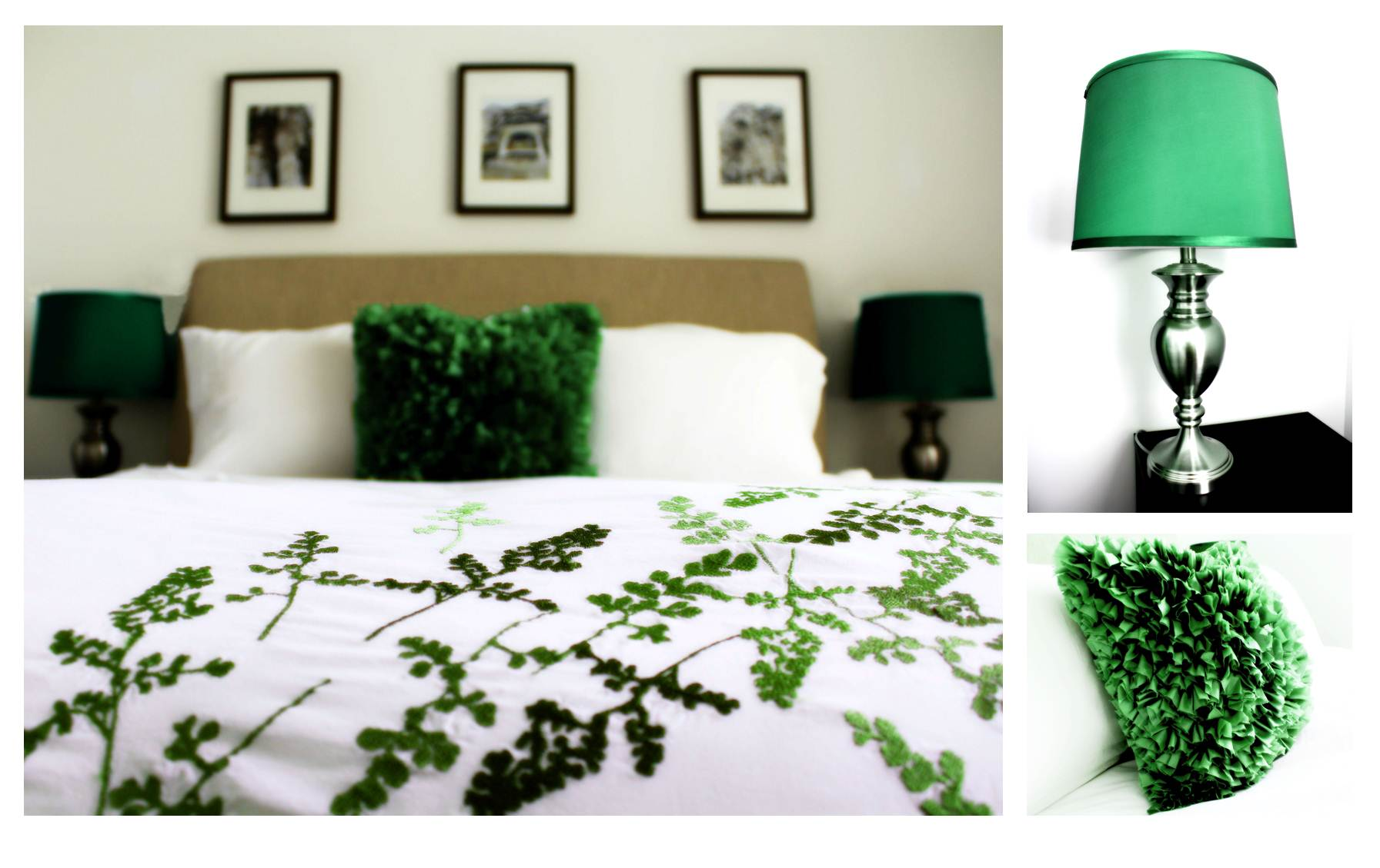 5 Ways to infuse Emerald Green into your home dcor