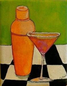 A Really Girlie Martini