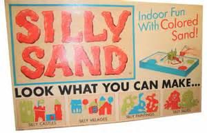 Silly Sand, nostalgia, vintage toy, 1960s
