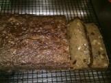 Gluten-free, fat-free, Carrot, Raisin, Bread