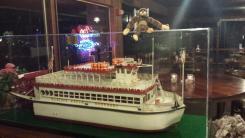 George, Christmas, holiday, travel, beach, Cortez Beach, Florida, boat