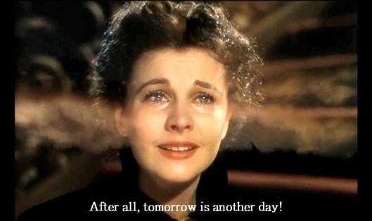 Monday, tomorrow, Scarlet O'Hara, photo