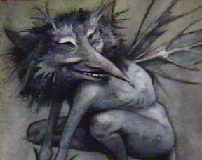 bad fairy, Brian Froud, S.A. Young, sick, allergy