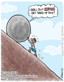 sisyphus cartoon best