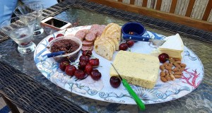 Brie, Nibblies, Cocktails, S. A. Young, 4th of July