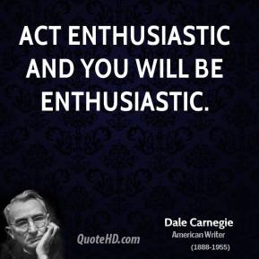 post-retreat blues, S.A. Young, writing life, enthusiasm, mojo, Dale Carnegie