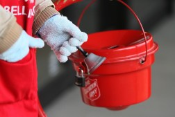 shopping, holidays, Christmas, giving, charity, donation, S. A. Young, Monday, bell-ringer, kettle