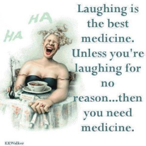 laughter, Monday, S.A. Young