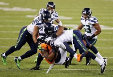 2013 Seattle Seahhawks defeat Denver Bronco in SB XLVIII