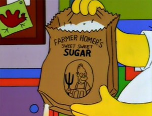 normal, Oscars, sick, Warren Beatty, blogging, sugar, Homer Simpson, The Simpsons, S. A. Young