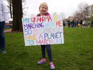 Earth Day, March for Science, Boston, Monday, blogging, S.A. Young