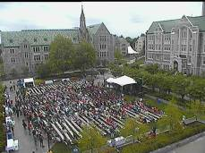 Commencement, Boston College, Monday, blogging, S.A. Young, Bill Withers