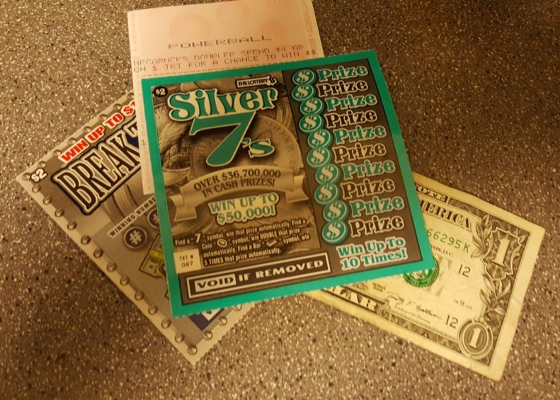lottery, powerball, scratch ticket, Monday, blogging, cash, S.A. Young