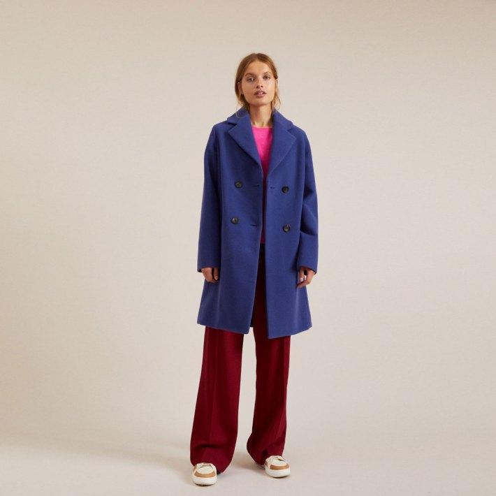 Trend Mantel aus nachhaltiger Schurwolle