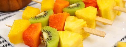 Bevroren Fruitspiesjes Recept van Allo