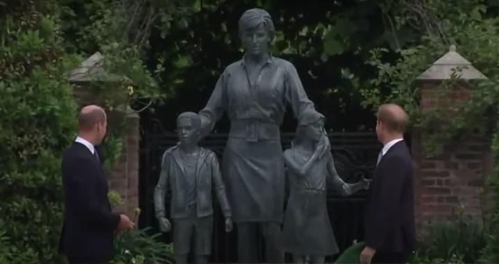 Critici van het nieuwe standbeeld van prinses Diana missen het punt