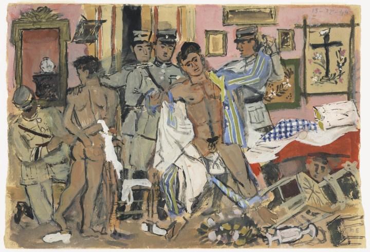 Frank, Grieks en homo: modernistische schilder Yannis Tsarouchis krijgt eindelijk zijn verdiende loon