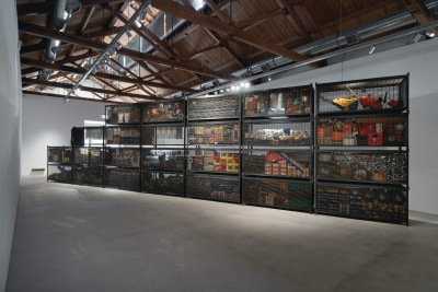 When Hardware Store Met Gallery: Theaster Gates at Gray