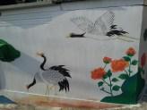 Asian crane birds, Su-am gol.