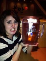 Big ole pitcher of beer