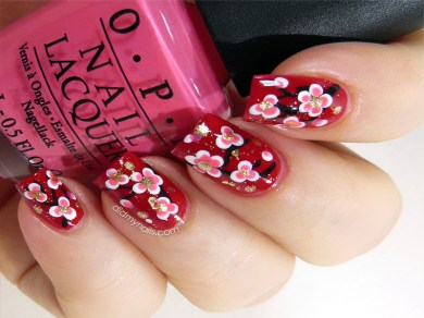 chinese-flower-nail-art