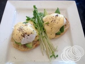 Rydges Horizons Rise Eggs Benedict with Avocado