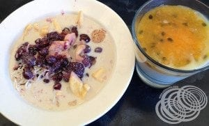 Rydges Horizons Rise Muesli and Yoghurt