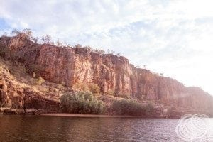 Nitmiluk Katherine Gorge Colours at Sunrise
