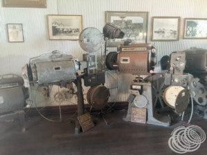 Old projection equipment at Sun Pictures