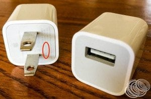 These Apple Japan/USA USB chargers have universal voltage support