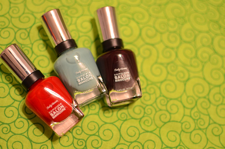 Sally Hansen Complete Salon Manicure Review & Swatches